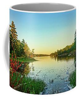 Northern Ontario Lake Coffee Mug