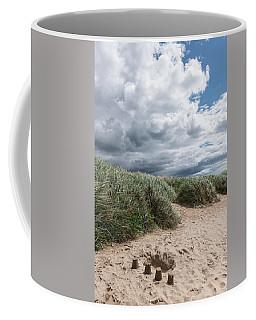 Northumberland Beach Poster Coffee Mug