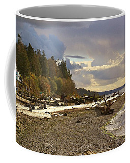 Coffee Mug featuring the photograph Northwest Coast Line by Bruce Bley