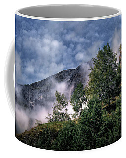 Norway Mountainside Coffee Mug by Jim Hill