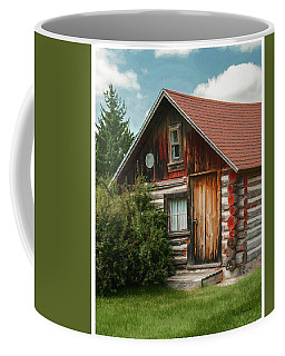 Norwegian Log Home Coffee Mug