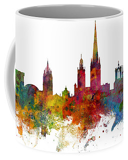 Norwich England Skyline Panoramic Coffee Mug