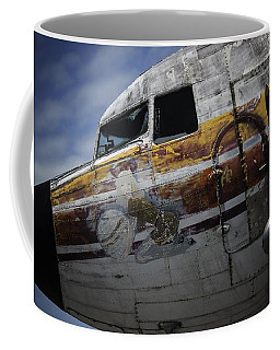 Nose Art Coffee Mug by Michael Nowotny