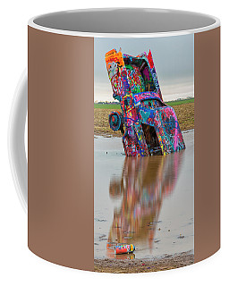 Coffee Mug featuring the photograph Nose Dive by Stephen Stookey