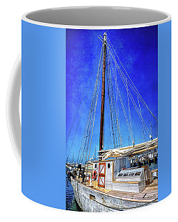 Nostalgia Of The Western Union Schooner Coffee Mug