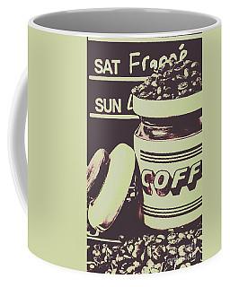 Nostalgic Cafe Art Coffee Mug