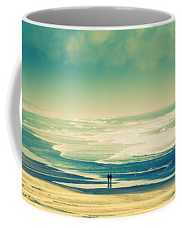 Nostalgic Oceanside Oregon Coast Coffee Mug by Amyn Nasser