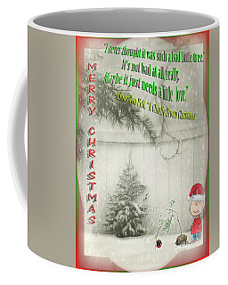 Not A Bad Little Tree Coffee Mug