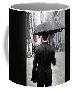Coffee Mug featuring the photograph Not Me  by Empty Wall