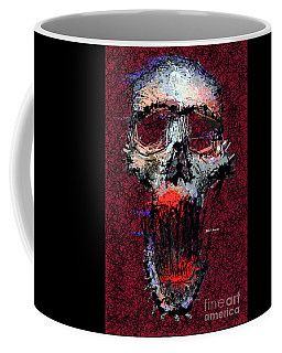 Coffee Mug featuring the digital art Not Me by Rafael Salazar