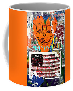 Coffee Mug featuring the photograph Not My President by John Rizzuto