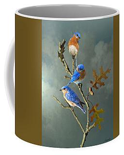 Nothing But Bluebirds Coffee Mug