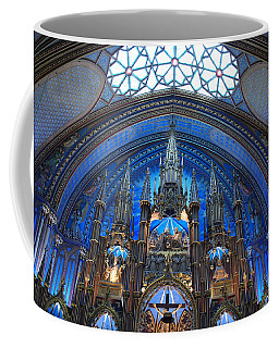 Notre Dame Basilica Coffee Mug