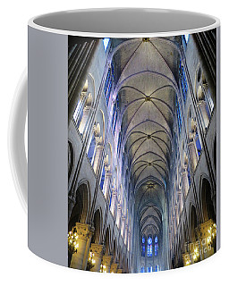 Notre Dame De Paris - A View From The Floor Coffee Mug