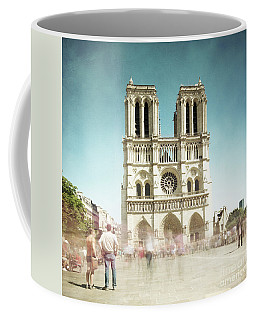 Coffee Mug featuring the photograph Notre Dame by Hannes Cmarits