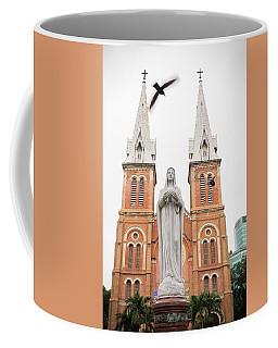 Notre Dame Ho Chi Minh City Coffee Mug by For Ninety One Days