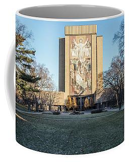 Notre Dame Touchdown Jesus  Coffee Mug