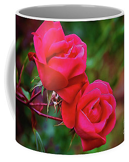Coffee Mug featuring the photograph Notre Roman Poetique by Diana Mary Sharpton