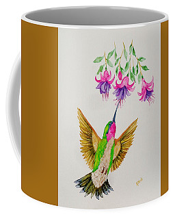 Coffee Mug featuring the painting Nourishment  by Katherine Young-Beck