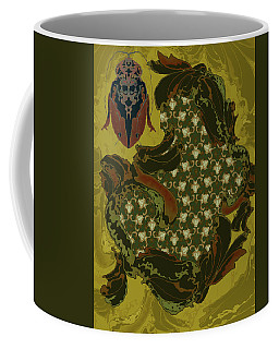Nouveau Water Beetle Coffee Mug
