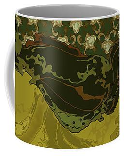 Nouveau Water Beetle Coffee Mug