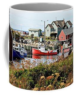 Nova Scotia Fishing Community Coffee Mug