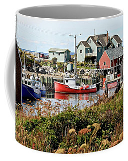 Nova Scotia Fishing Community Coffee Mug