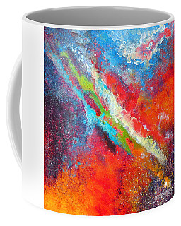 Fantasies In Space Series Painting. Nova Sonata Coffee Mug