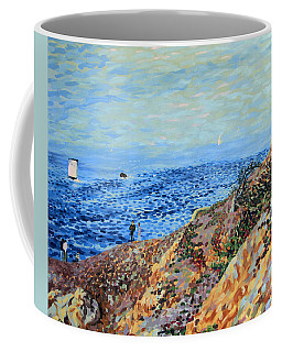 November Day At Point Lobos San Francisco Coffee Mug