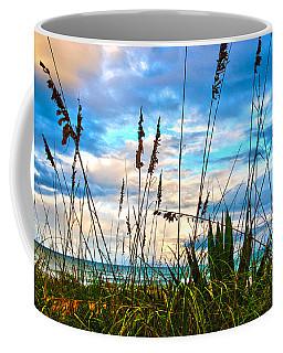 November Day At The Beach In Florida Coffee Mug by Susanne Van Hulst