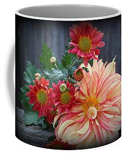 November  Flowers - Still Life Coffee Mug