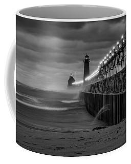 November Gales In Grand Haven Coffee Mug