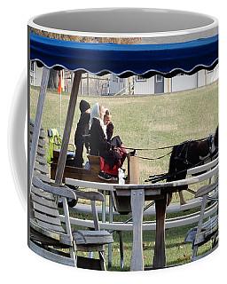 November Pony Cart Fun Coffee Mug