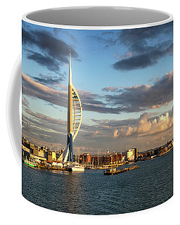 November - Portsmouth Harbour Coffee Mug by Shirley Mitchell