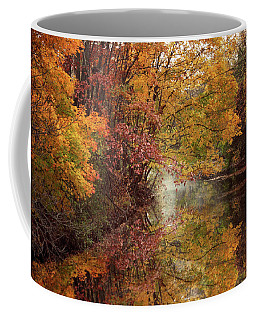Coffee Mug featuring the photograph November Reflections by Jessica Jenney