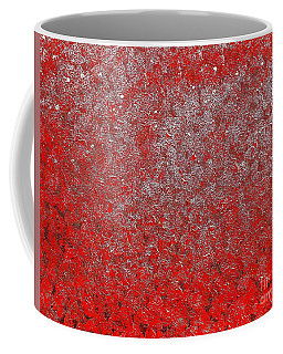 Now It's Red Coffee Mug by Rachel Hannah