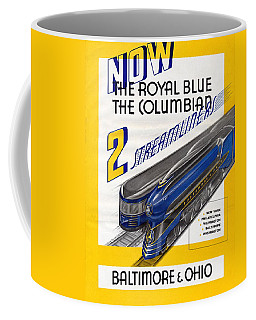 Now The Royal Blue The Columbian Coffee Mug