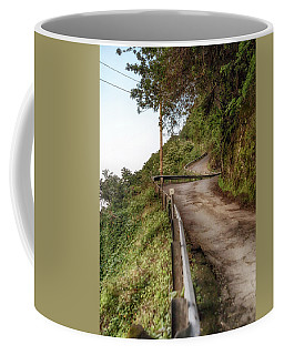 Nowhere But Up Coffee Mug