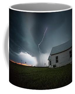 Coffee Mug featuring the photograph Nowhere To Run by Aaron J Groen
