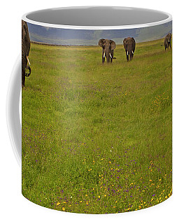 Nrongoro Crater-signed-#0141 Coffee Mug