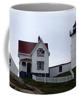 Nubble Light Coffee Mug by Kevin Fortier