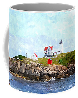Nubble Light Nlwc Coffee Mug