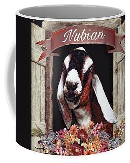 Nubian Goat Design Coffee Mug
