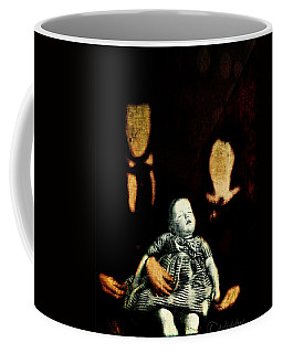 Coffee Mug featuring the digital art Nuclear Family by Delight Worthyn