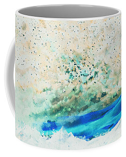 Coffee Mug featuring the painting Nuclear Winter by Reed Novotny