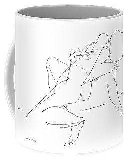 Nude-female-drawing-17 Coffee Mug