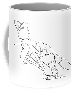 Nude Female Drawings 3 Coffee Mug