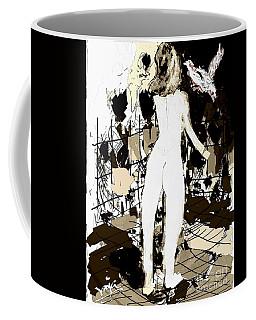 Nude Girl And The Bird Coffee Mug