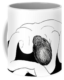 Nude In Supplication Coffee Mug