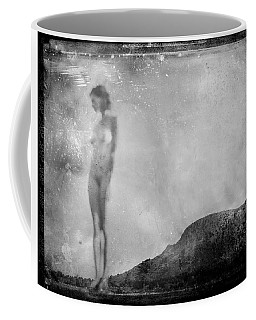 Nude On The Fence, Galisteo Coffee Mug